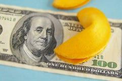 Наличные деньги удачи Стоковая Фотография