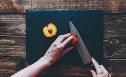 Намекните персик Стоковая Фотография RF