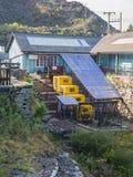 Намечайте мои в горах Snowdonia, Уэльса Стоковые Изображения RF