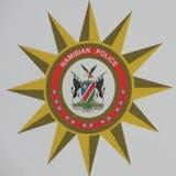 Намибийский значок полиции Стоковые Фотографии RF