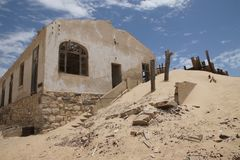 Намибийское город-привидение 1 Стоковые Фотографии RF