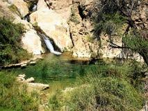 Намибия, водопад в парке Naukluft стоковые фотографии rf