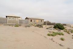 НАМИБИЯ, KOLMANSKOP - 14-ОЕ СЕНТЯБРЯ 2014: Город-привидение Стоковые Изображения RF