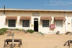 НАМИБИЯ, KOLMANSKOP - 14-ОЕ СЕНТЯБРЯ 2014: Город-привидение Стоковое Изображение RF