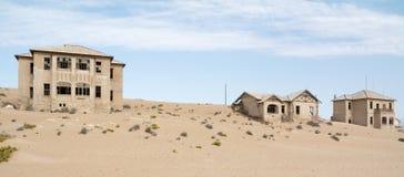 НАМИБИЯ, KOLMANSKOP - 14-ОЕ СЕНТЯБРЯ 2014: Город-привидение Стоковые Фото