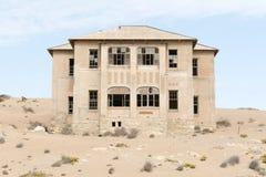 НАМИБИЯ, KOLMANSKOP - 14-ОЕ СЕНТЯБРЯ 2014: Город-привидение Стоковое фото RF