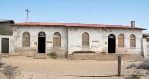 НАМИБИЯ, KOLMANSKOP - 14-ОЕ СЕНТЯБРЯ 2014: Город-привидение Стоковое Изображение
