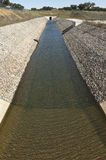 Канал диверсии воды Стоковые Изображения