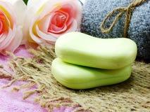 Намыльте бар frome бара естественный естественного мыла для очищать и здоровый Стоковые Изображения RF