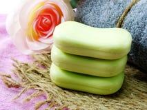 Намыльте бар frome бара естественный естественного мыла для очищать и здоровый Стоковое Изображение RF