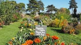 Нант, Франция Jardin des Plantes de Нант муниципальный ботанический сад в центре города видеоматериал
