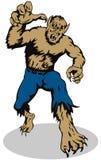 нападение к werewolf бесплатная иллюстрация