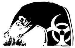 Нападение химического оружия Стоковое Фото