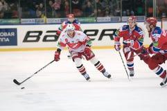 Нападения Spartak (Москва) Стоковая Фотография RF
