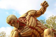 Нападение на титане Стоковые Фотографии RF