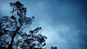 Нападения облаков стоковая фотография