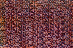 Напечатанная антиквариатом картина повторения штофа Стоковая Фотография RF
