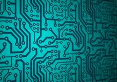 напечатанная цепь доски Стоковое Фото