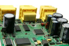 напечатанная цепь доски Стоковое фото RF
