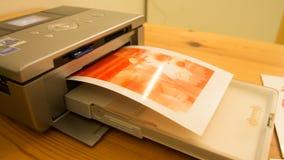 Напечатанные изображения Стоковое Изображение
