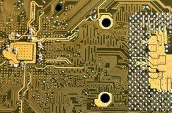 напечатанный pcb цепи доски Стоковое Изображение