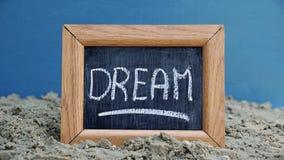 Написанная мечта Стоковая Фотография RF