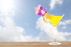 Напиток лимона коктеиля лета для вашего питья Стоковые Фото