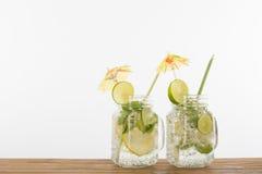 Напиток лимона коктеиля лета Стоковые Фото