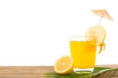 Напиток лимона коктеиля лета Стоковое Изображение
