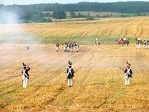 Наполеоновский воин стоковые изображения rf