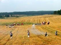 Наполеоновский воин стоковое фото