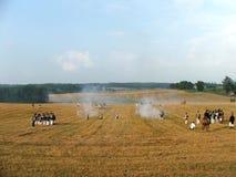 Наполеоновский воин стоковая фотография