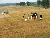 Наполеоновский воин стоковые фотографии rf