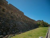 Наполеоновский форт/замок в Foz делают Дуэро, Порту, Португалию стоковые изображения