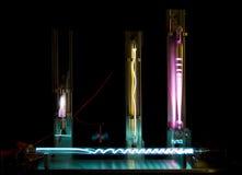 наполняет газом плазму Стоковая Фотография RF