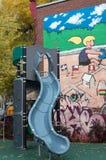 Напольная спортивная площадка ребенка Стоковое фото RF