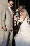 напольное венчание пейзажа Стоковые Фото