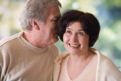 напольное пар счастливое возмужалое Стоковое Изображение
