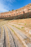 напольное amphitheatre античное Стоковая Фотография