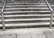 напольные шаги railing Стоковые Изображения