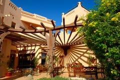 Напольный ресторан на роскошной гостинице Стоковое Изображение