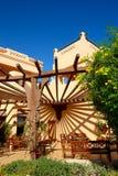 Напольный ресторан на роскошной гостинице Стоковое Изображение RF