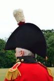 Наполеоновский генерал в шляпе стоковые изображения