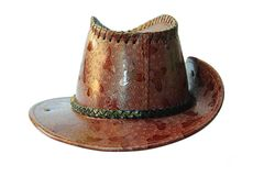 Наполненная до краев шляпа стоковое фото