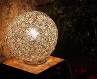 Напольная лампа провода Стоковые Фотографии RF