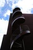 напольная винтовая лестница Стоковые Фото