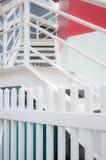 Лестница к второй этаж Стоковые Изображения