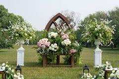 напольное венчание места Стоковое Изображение RF