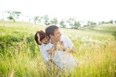 напольное пар счастливое Стоковые Фотографии RF