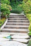 напольные лестницы Стоковая Фотография